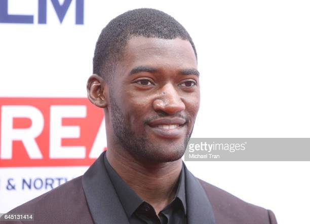 Malachi Kirby attends The GREAT Film Reception to honor the British nominees of The 89th Annual Academy Awards held at Fig Olive on February 24 2017...