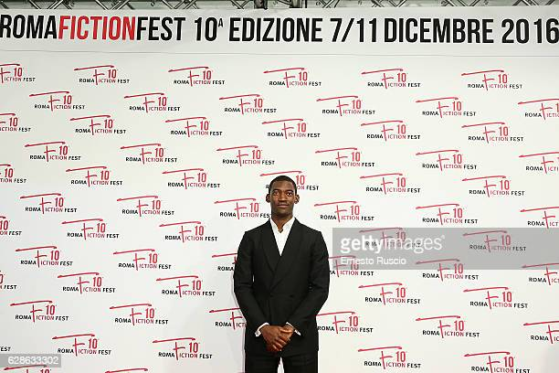Malachi Kirby attends the 'Roots' red carpet during the Roma Fiction Fest 2016 at The Space Moderno on December 8 2016 in Rome Italy