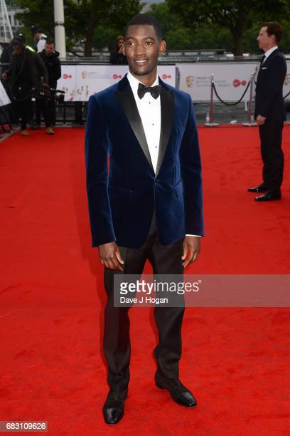 Malachi Kirby attends the Virgin TV BAFTA Television Awards at The Royal Festival Hall on May 14 2017 in London England