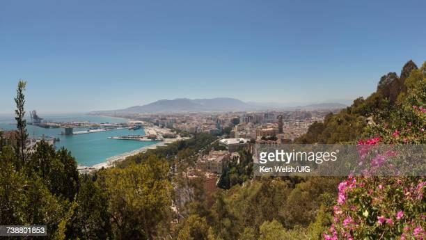 'Malaga, Costa del Sol, Spain. Overall view.'