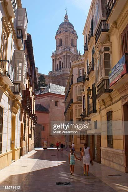 Malaga side street.