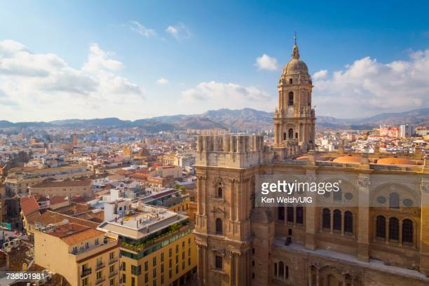 'Malaga, Spain. The cathedral.'