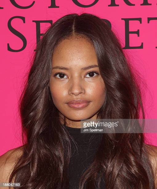 Malaika Firth attends the after party for the 2013 Victoria's Secret Fashion Show at TAO Downtown on November 13 2013 in New York City