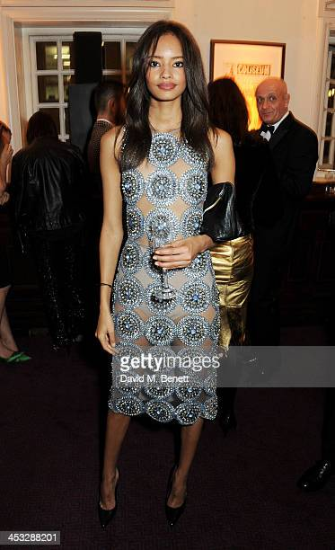 Malaika Firth attends the British Fashion Awards 2013 drinks reception at the London Coliseum on December 2 2013 in London England