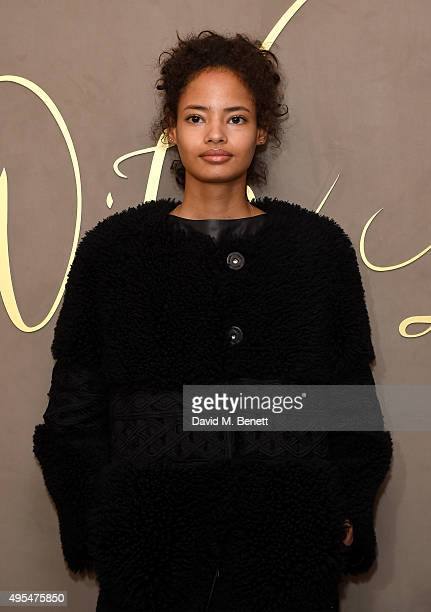 Malaika Firth attends the Burberry Festive Film Premiere on November 3 2015 in London England