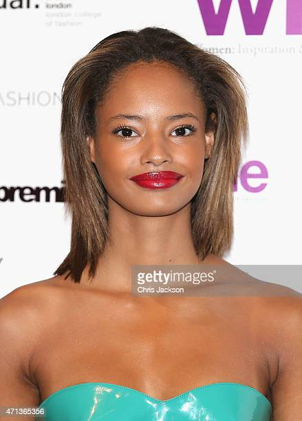 Malaika Firth attends the LDNY Fashion show and WIE Award Gala at Goldsmiths' Hall on April 27 2015 in London England