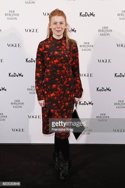 Malaika Raiss attends the celebration of 'Der Berliner Mode Salon' by KaDeWe Vogue at KaDeWe on January 18 2017 in Berlin Germany