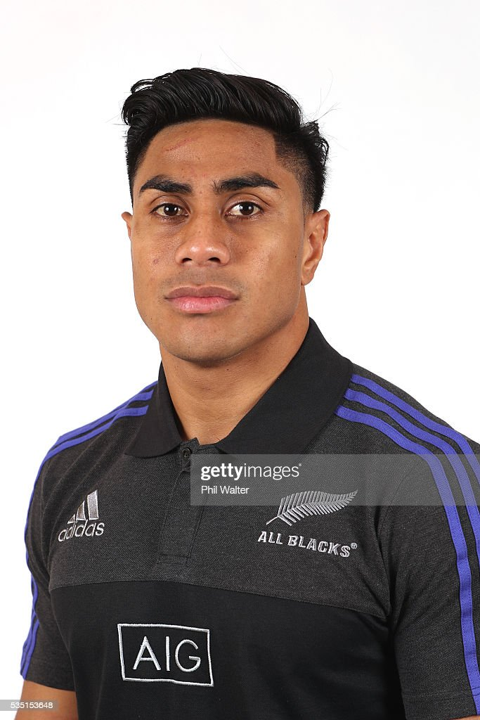 <a gi-track='captionPersonalityLinkClicked' href=/galleries/search?phrase=Malakai+Fekitoa&family=editorial&specificpeople=9630619 ng-click='$event.stopPropagation()'>Malakai Fekitoa</a> of the All Blacks poses for a portrait on May 29, 2016 in Auckland, New Zealand.