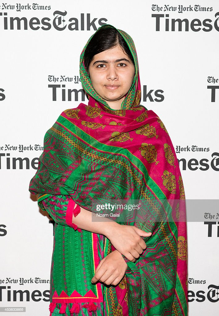 Malala Yousafzai attends TimesTalks Presents I Am Malala at The French Institute on August 19 2014 in New York City