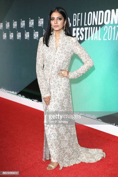 Malavika Mohanan attends the World Premiere of 'Beyond The Clouds' during the 61st BFI London Film Festival on October 13 2017 in London England