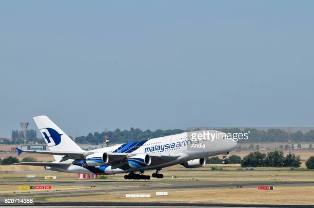 Malaysia Airlines Airbus A3809MMNA