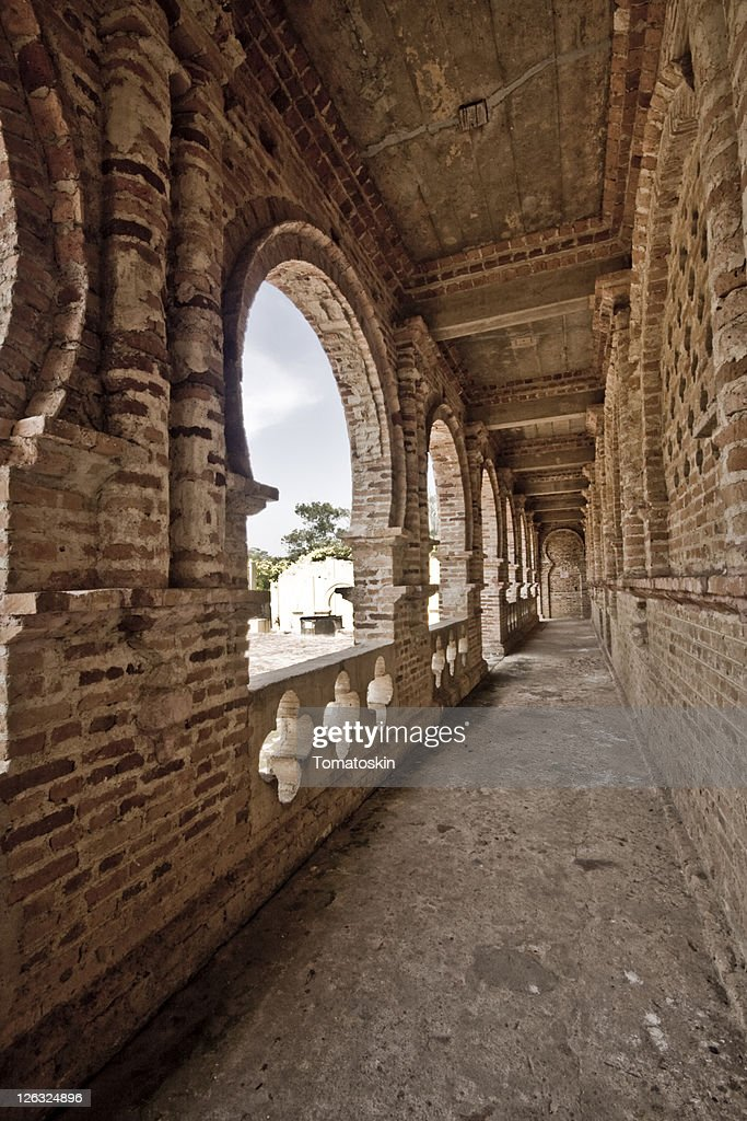 Malaysia kellie castle the ruined mansion : Stock Photo