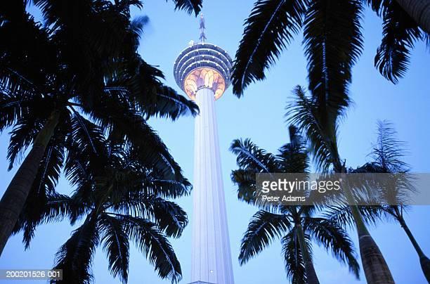Malaysia, Kuala Lumpur, Menara Kuala Lumpur Tower, low angle view