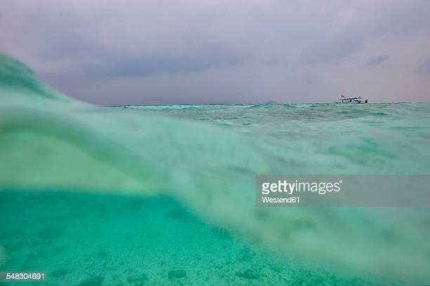 Malaysia, South China Sea, water surface