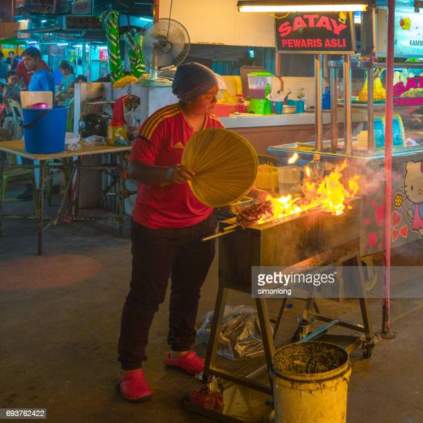 Malaysia Street Food - Satay