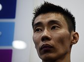 Malaysian badminton player Lee Chong Wei attends a promotional event in Kuala Lumpur on April 17 2015 Malaysian ace Lee Chong Wei appeared before a...