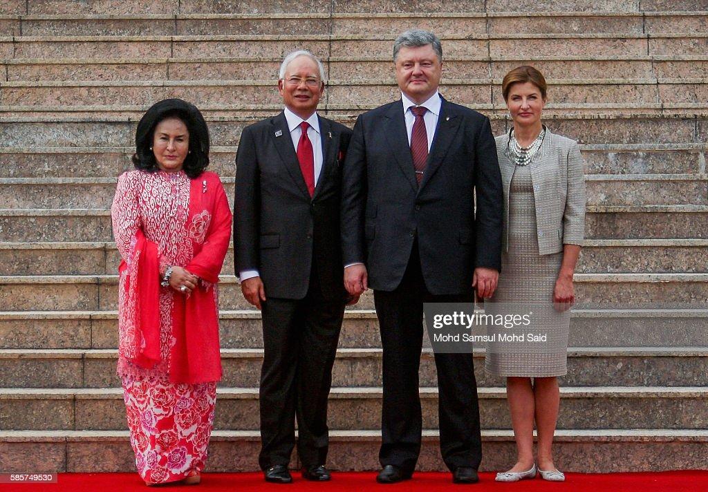 President Ukraine Petro Poroshenko Visits Malaysia
