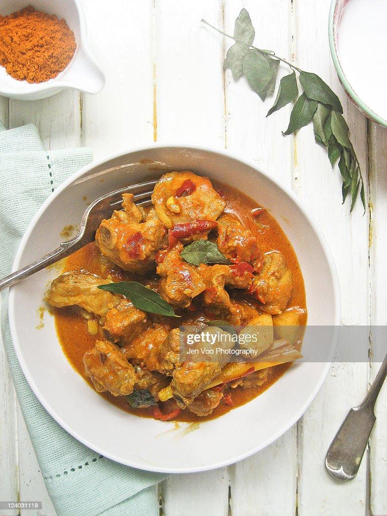 Malaysian Spareribs Curry