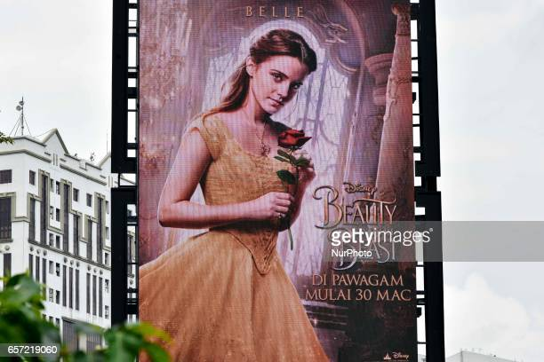 Malaysia's largest cinema chain Golden Screen Cinemas said March 21 it will begin showing the Disney movie Beauty and the Beaston March 30 without...