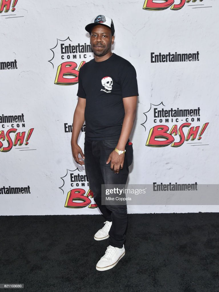 Malcolm Barrett at Entertainment Weekly's annual Comic-Con party in celebration of Comic-Con 2017 at Float at Hard Rock Hotel San Diego on July 22, 2017 in San Diego, California.