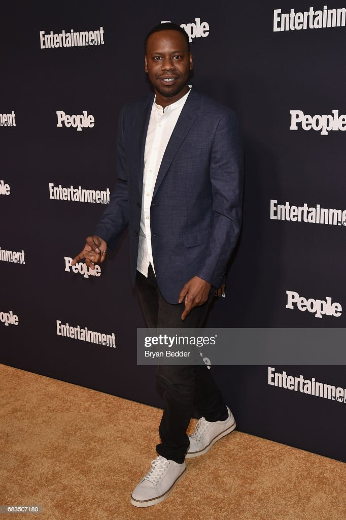 Malcolm Barrett of Timeless attends the Entertainment Weekly and PEOPLE Upfronts party presented by Netflix and Terra Chips at Second Floor on May 15, 2017 in New York City.