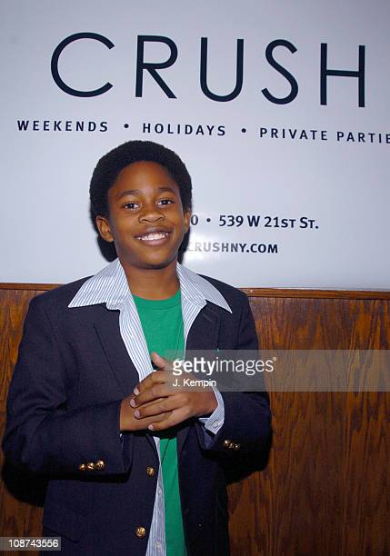 Malcolm David Kelley during Crush Night Club Opening Hosted by Damien Fahey at 539 West 21st Street in New York City New York United States