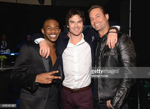 Malcolm David Kelley Ian Somerhalder and Josh Holloway attend The Paley Center For Media's PaleyFest 2014 Honoring 'Lost 10th Anniversary Reunion' at...
