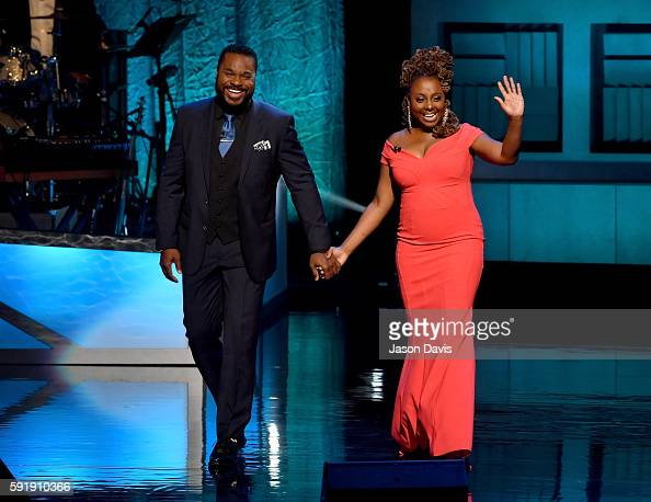 Malcolm Jamal Warner and Ledisi host the NMAAM 2016 Black Music Honors on August 18 2016 in Nashville Tennessee
