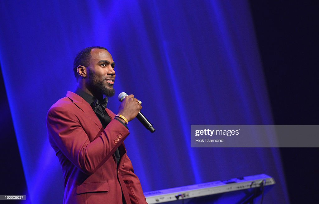 Malcolm Jenkins of the New Orleans Saints attends the Super Bowl Gospel 2013 Show at UNO Lakefront Arena on February 1, 2013 in New Orleans, Louisiana.