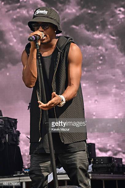 Malcolm Kelley of MKTO performs during Billboard Hot 100 Festival Day 2 at Nikon at Jones Beach Theater on August 23 2015 in Wantagh New York