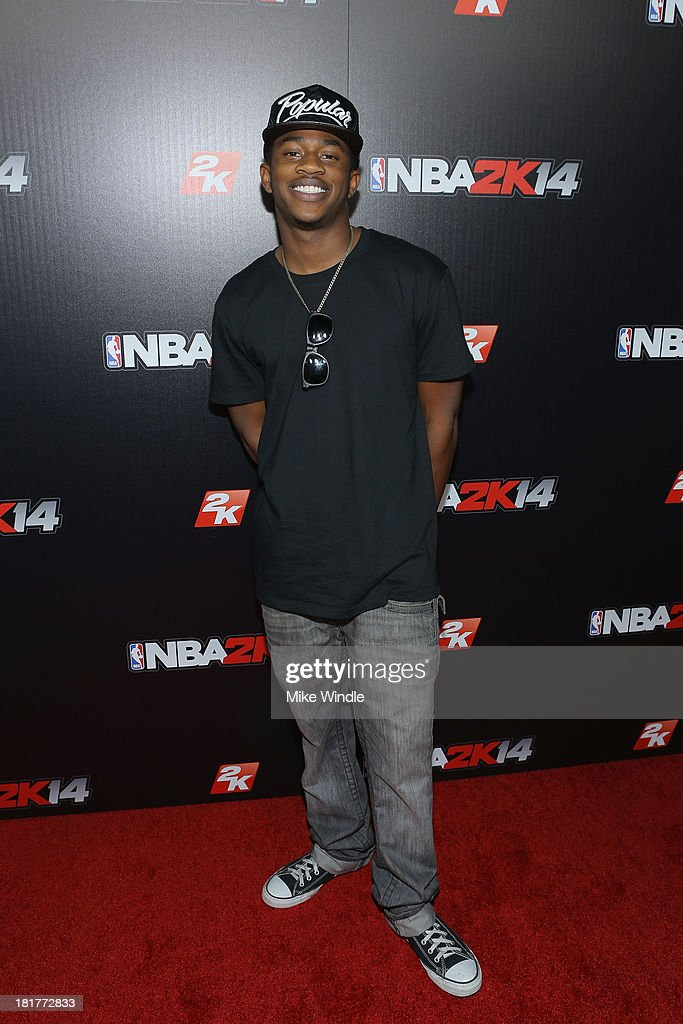 Malcolm Kelly attends the NBA2K14 premiere party at Greystone Manor Supperclub on September 24, 2013 in West Hollywood, California.