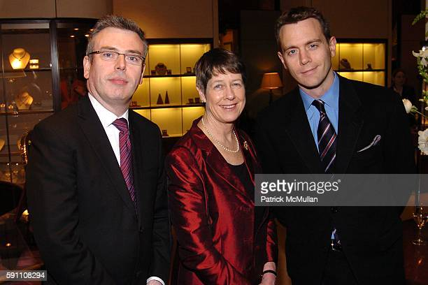 Malcolm Martineau Dame Judith Mayhew Jonas and Simon Yates attend 47 Park Street Asprey and The Royal Opera House of Covent Garden in London host a...
