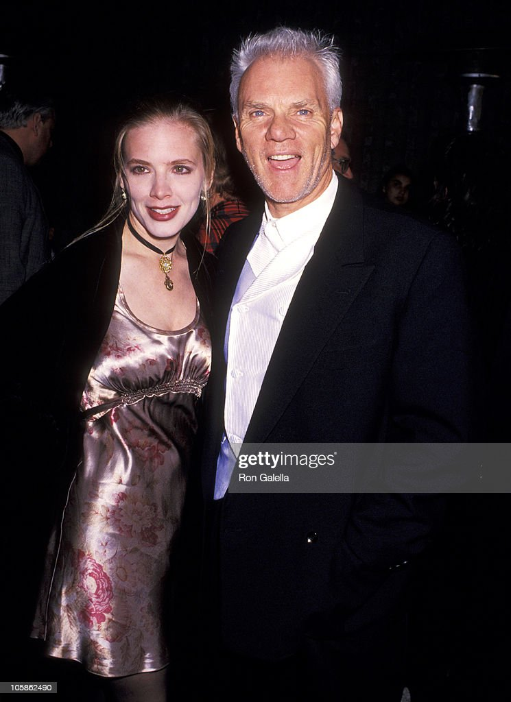 Malcolm McDowell and Kelley Kuhr during  Ready to Wear   Pret-a-Porte