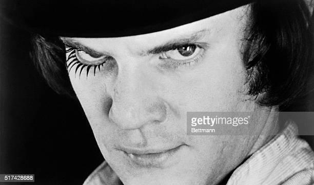 Malcolm McDowell as Alex Delarge from A Clockwork Orange