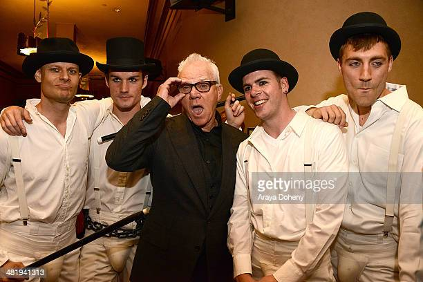 Malcolm McDowell attends the Prospect House Entertainment and Glendale Arts presents Malcom McDowell Series Of QA Screenings Presents 'Clockwork...