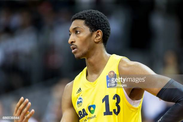 Malcolm Miller of Berlin looks on during the easyCredit BBL Basketball Bundesliga match between FC Bayern Muenche and Alba Berlin at Audi Dome on May...