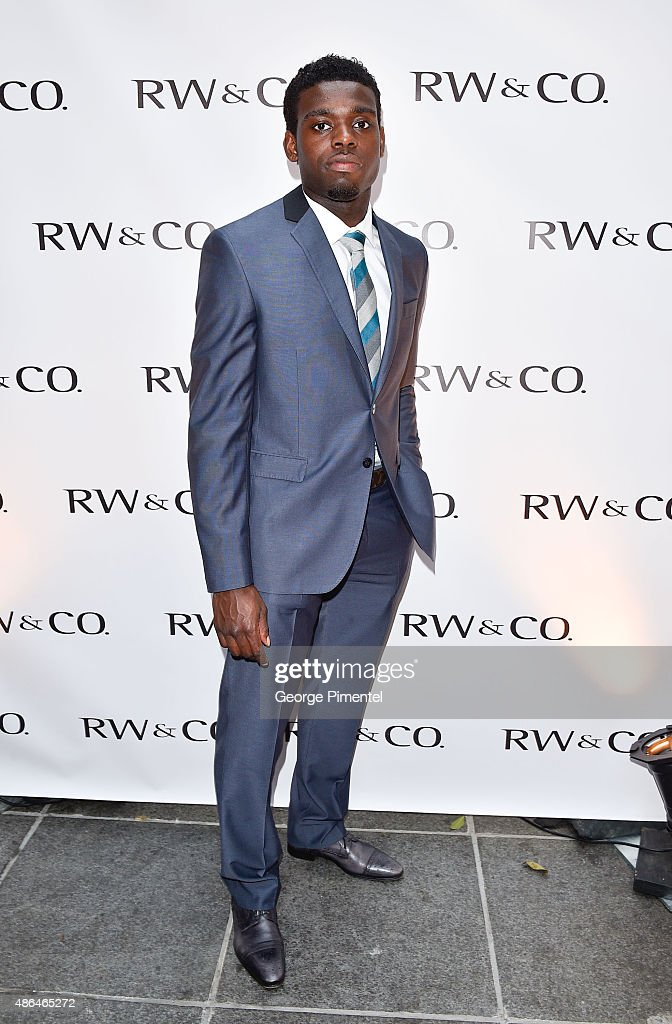 RW&CO. Fall 2015 Suiting Campaign Launch With P.K. Subban