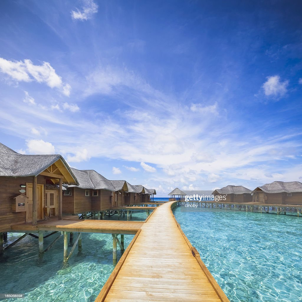 Maldives Boardwalk