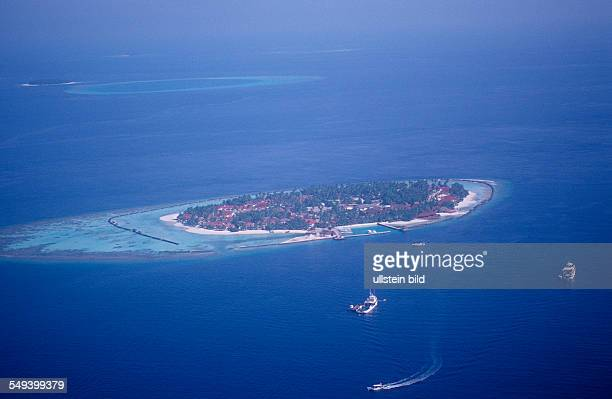 Maldives Island air image Maldives Island Indian Ocean Ari Atol