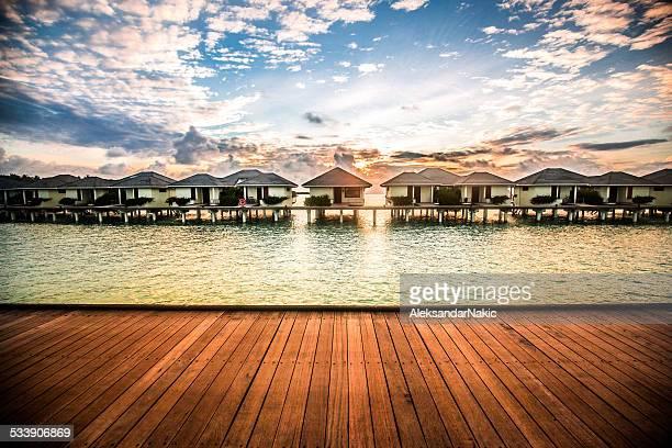 Maledivischer bungalows