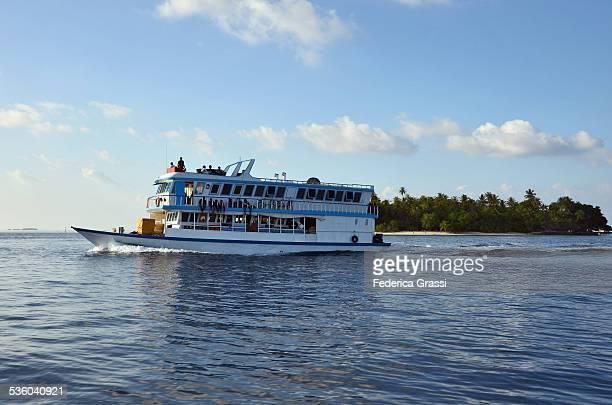 Maldivian Commuter Boat Service