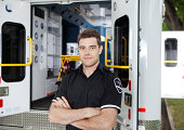 Portrait of a male Ambulance Personal