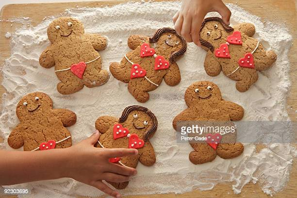 male and female ginger bread cookies