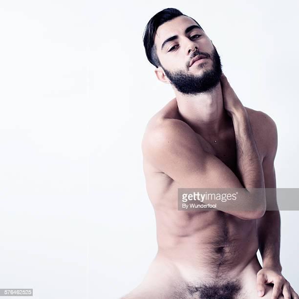 Male bearded dancer