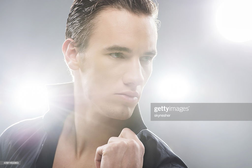 Male beauty. : Stock Photo