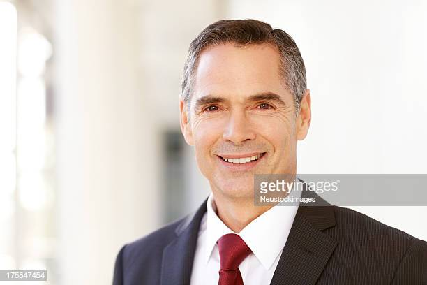 Male Business Entrepreneur Smiling