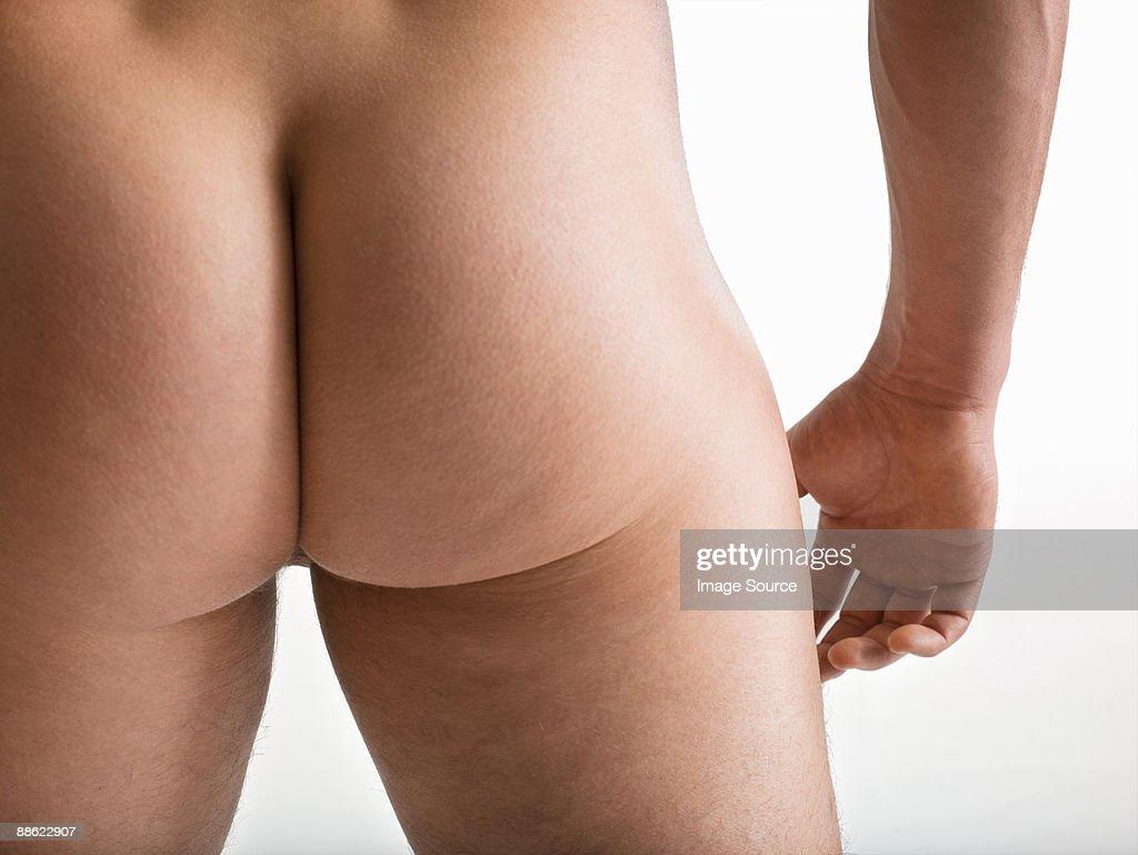 Male buttocks : Stock Photo