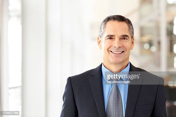 Male Corporate Executive Smiling