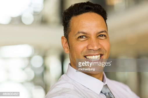male corporate worker close up : Stock Photo