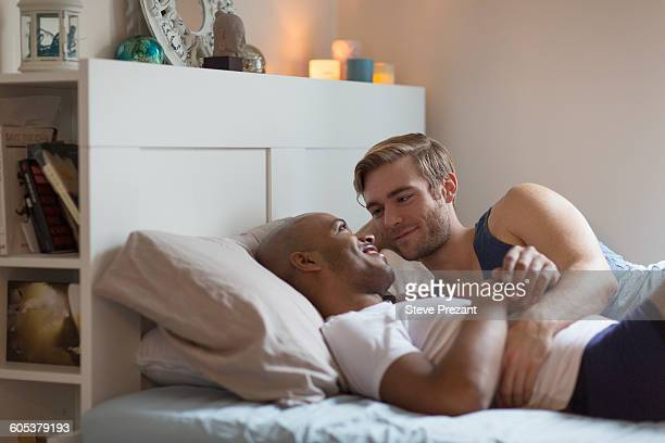 from Kayson gays in bed together